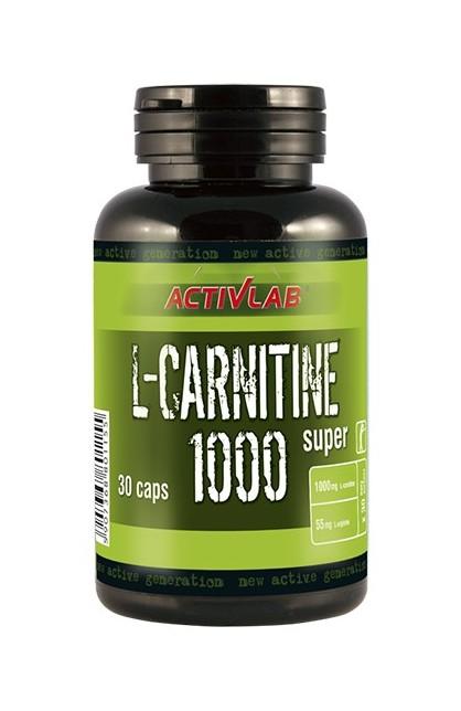 L-Carnitine 600 & 1000 30 caps