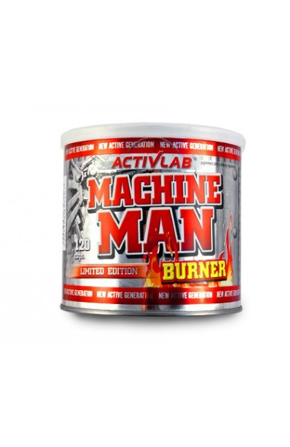 Machine Man Burner 120 caps