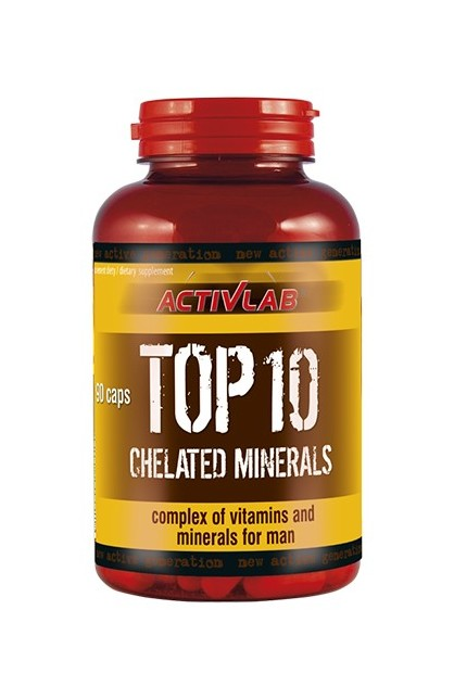 TOP 10 Chelated minerals 90 caps