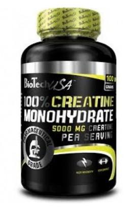 100 % Creatine Monohydrate 100г
