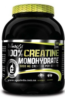 100 % Creatine Monohydrate 500 г