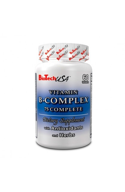 Natural B-Complex 75 Complete - 60 таб