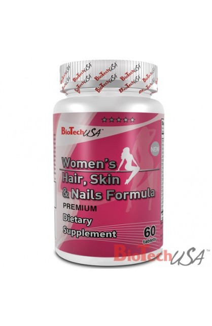 Women's Hair, Skin & Nails Formula - 60 таб