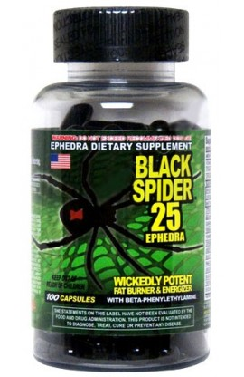 Cloma Pharma Black Spider Ephedr100кап