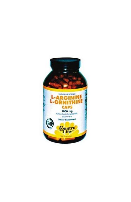 L-ARGININE, L-ORNITHINE 60 капсул