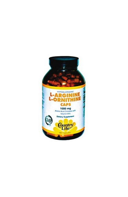 L-ARGININE, L-ORNITHINE 90 капсул