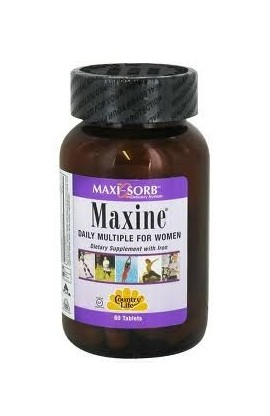 MAXINE WITH IRON 60 таблеток