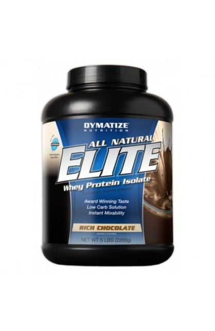 All Natural Elite Whey - 2268 грамм