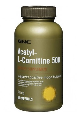 Acetyl-L-Carnitine 500 - 60 капсул