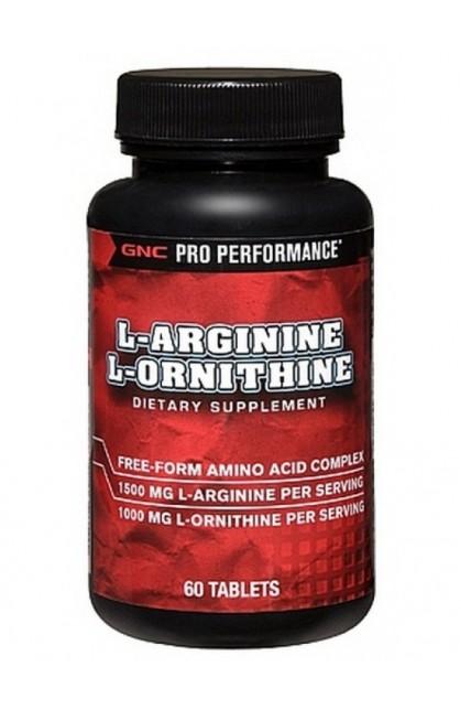 L-Arginine & L-Ornithine 60tab