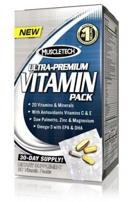 100% Ultra-Premium Vitamin Pack - 30 пак