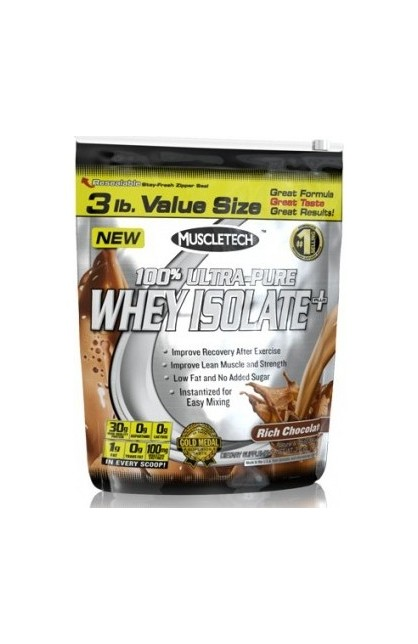 100% Ultra-Pure Whey Isolate Plus - 1360 гр