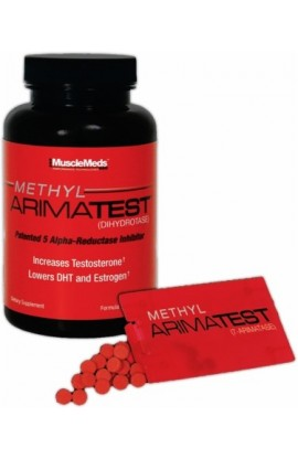 Methyl Arimatest, 120 Capsules + 60 SubZorb Tablets