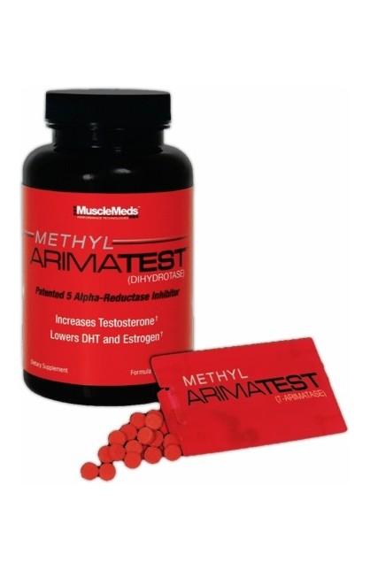 Methyl Arimatest, 120 Capsules + 60 SubZorb Tablets