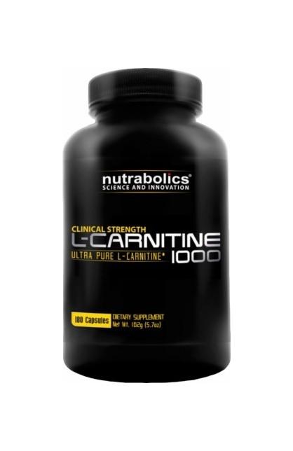 NB L-Carnitine 1000, 180 капсул
