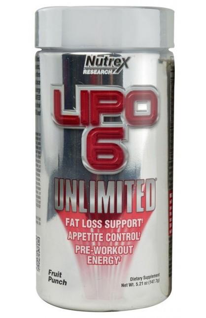 Lipo 6 Unlimited 147 грамм 60 порций