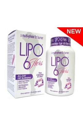Nutrex Research Lipo-6 Hers 120 multi-phase