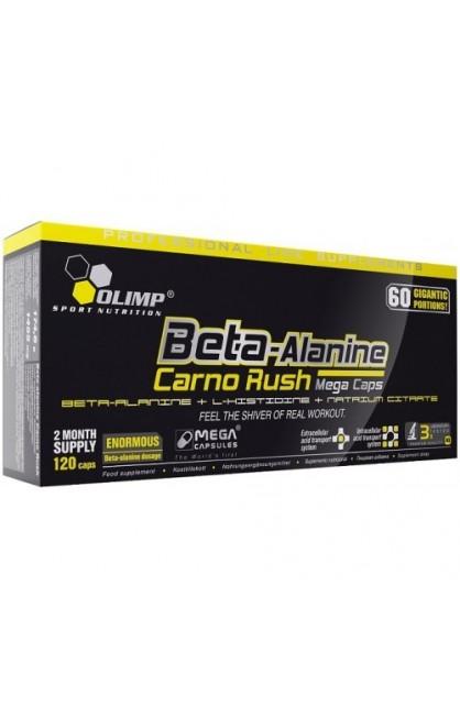 Beta-Alanin Carno Rush Mega Caps 120 капс