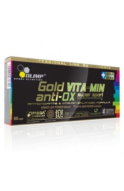 Gold Vita-min Anti-Ox - 60 капс