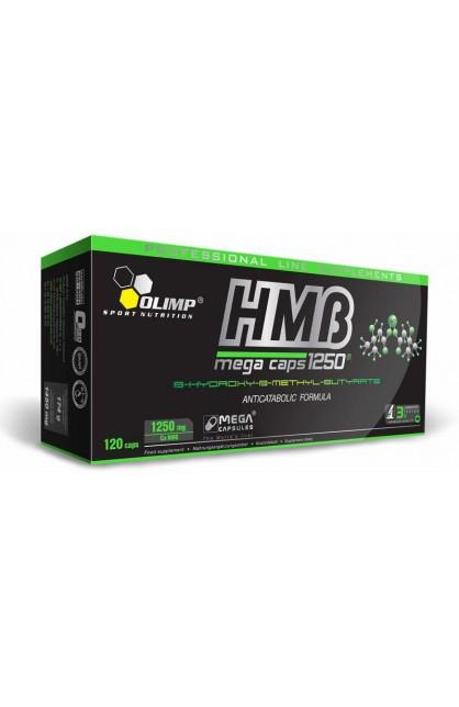 HMB mega caps 1250 - 120 капсул (коробка)