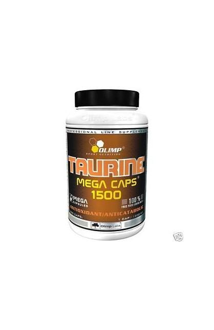 Taurine 1500 mega caps - 300 капсул (банка)