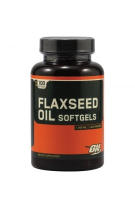 Flaxseed Oil Softgels - 100 капс