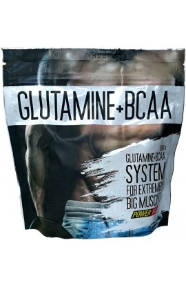 Power Pro Glutamin + BCAA 500 грамм