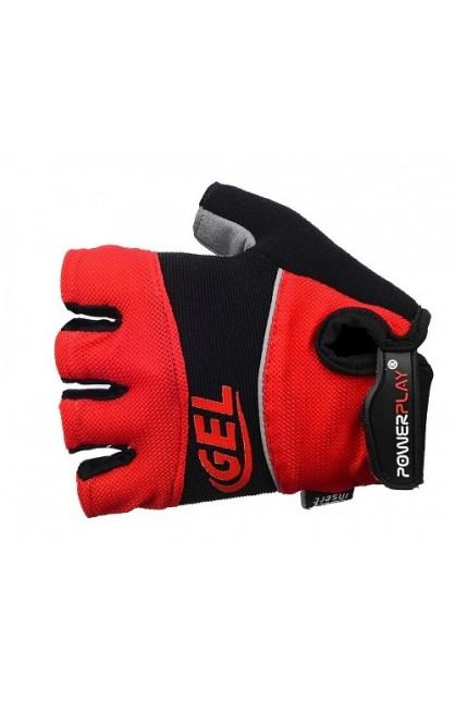 Велоперчатки PowerPlay 1058 red