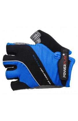 Велоперчатки PowerPlay 5023 blue MEN
