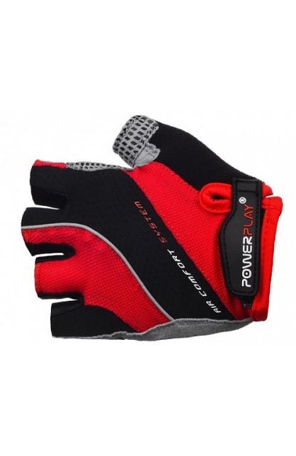 Велоперчатки PowerPlay 5023 red MEN