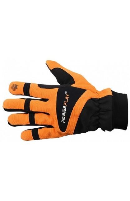 Велоперчатки PowerPlay 6906 orange