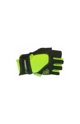 Перчатки для фитнеса PowerPlay 1728 green женские