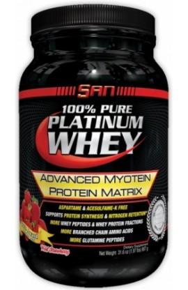 100% Pure Platinum Whey - 0,9kg