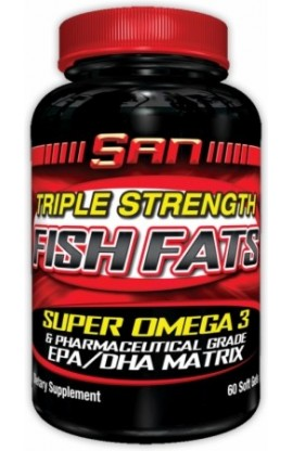 Triple Strength Fish Fats 60caps