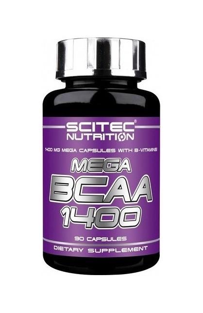 Mega BCAA 1400 - 90 капсул