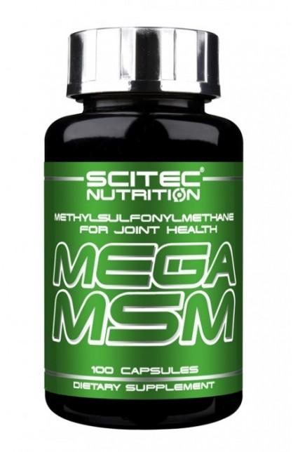MEGA MSM - 100 капсул