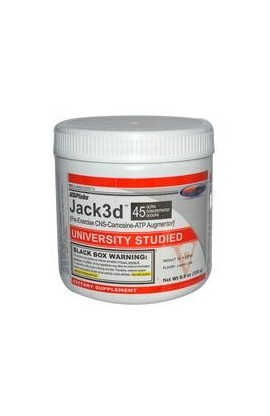 Jack3d (Lemon-Lime) - 250 грамм