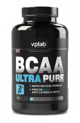BCAA ULTRA PURE 120 капс