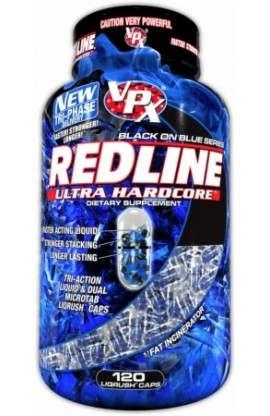 VPX RedLine Ultra Hardcore - 120 Liqrush Caps