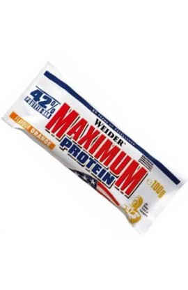 42%  Maximum Level Protein bar
