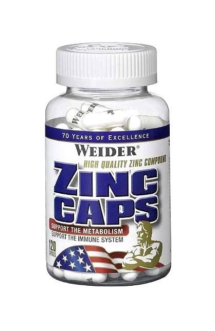 Zinc Caps - 120 капс