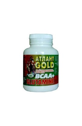 Glutamine + BCAA , 100 таб