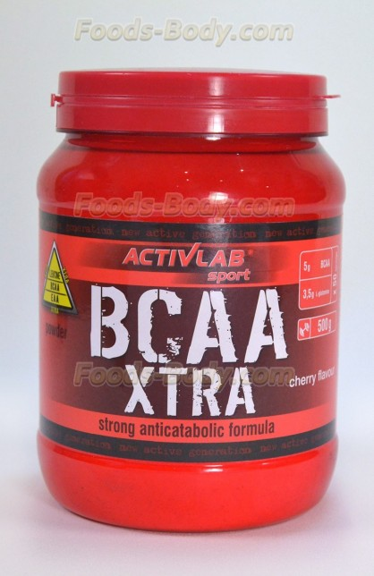 BCAA XTRA POWDER 500g