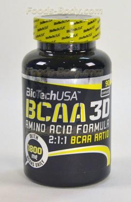 BCAA Nano 3D - 90 капс