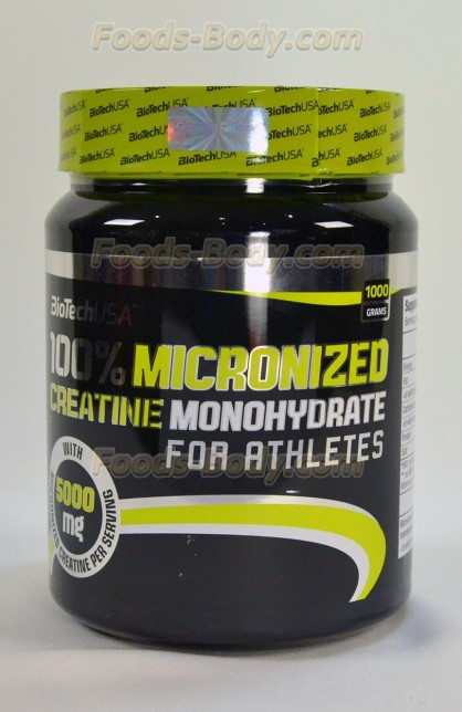 100% Creatine Monohydrate 1000 г