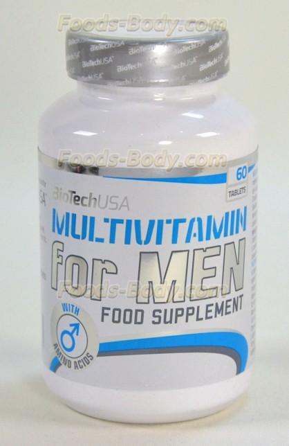 Multivitamin for Men 60 таб