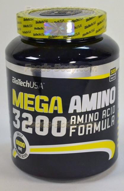 Mega Amino 3200 500 таб