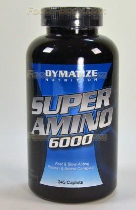 Super Amino 6000 - 345 капс