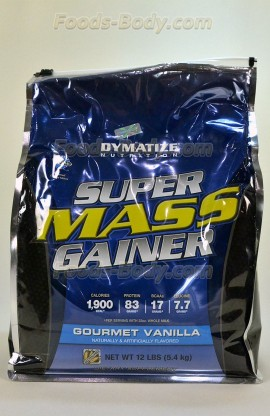 Super Mass Gainer 5450 грамм