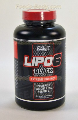 Lipo-6 Black - 120 капсул